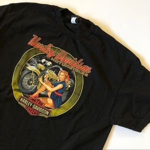 Harley Davidson New York Tee  - size 2XL